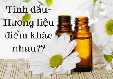 Tinh dầu và hương liệu!! Bạn có biết???