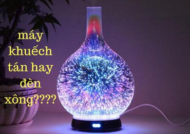 Máy khuếch tán và đèn xông tinh dầu, nên sử dụng loại nào?