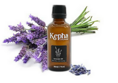 Tinh dầu oải hương Kepha 100% nguyên chất| Chăm sóc sức khỏe và làm đẹp cho mọi nhà