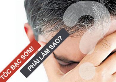 Tinh dầu trị tóc bạc sớm cứu cánh cho bạn