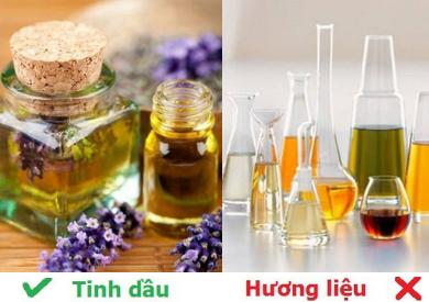 Tinh dầu và hương liệu khác nhau như thế nào?