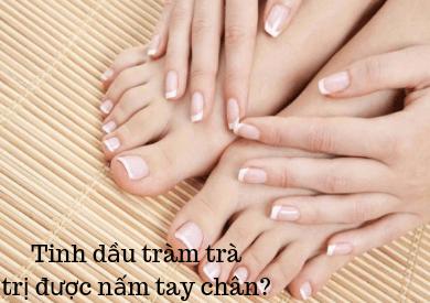 Tinh dầu tràm trà có trị được nấm tay chân không?