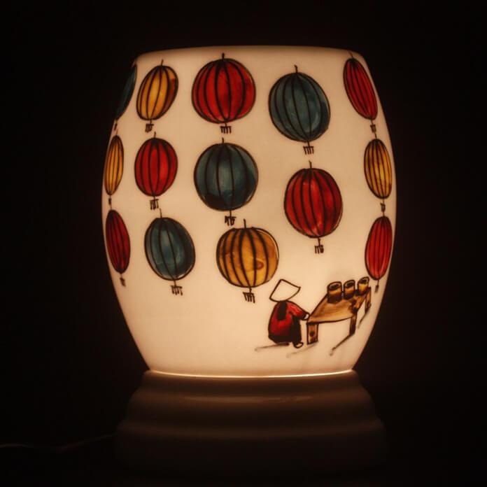 Đèn xông Tinh dầu MD027 Kepha