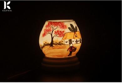 """[TOP] Đèn xông tinh dầu bằng gốm sứ """"đáng tiền"""""""
