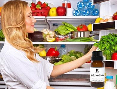 TOP 6 loại tinh dầu khử mùi hôi tủ lạnh hiệu quả