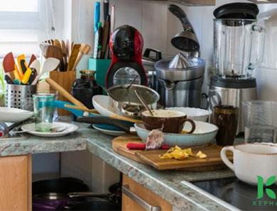 Cách khử mùi cho nhà bếp ở căn hộ chung cư hiệu quả ngay, triệt để