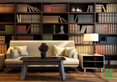 Bỏ túi mẹo hay tạo mùi thơm cho phòng đọc sách