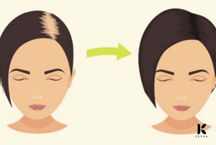 giúp tóc mọc nhanh