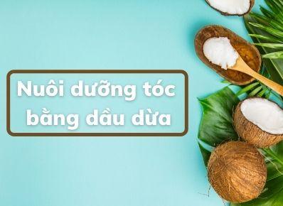Bí quyết ủ tóc bằng dầu dừa