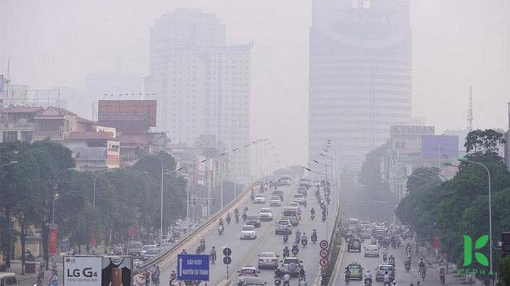 Ôi nhiễm không khí tại các thành phố lớnViệt Nam