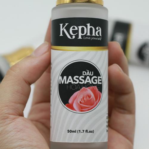 Dầu massage hoa hồng Kepha