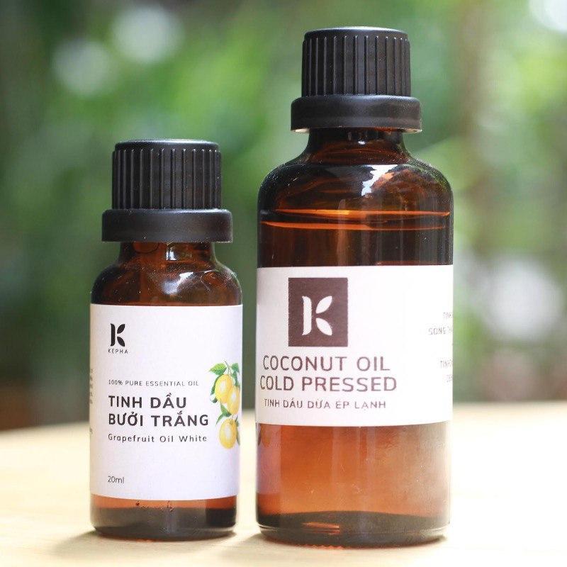 Bí quyết nuôi dưỡng mái tóc với dầu dừa và tinh dầu bưởi