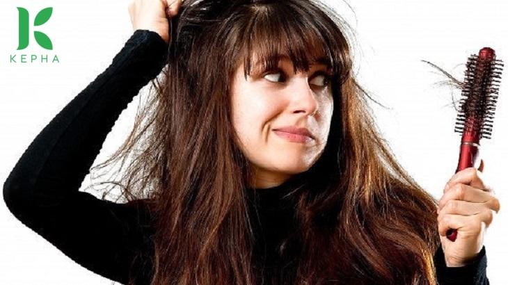 tác dụng của tinh dầu bạc hà với tóc