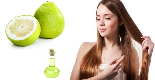 tinh dầu bưởi trị rụng tóc