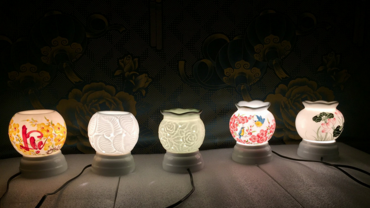 ưu điểm khi sử dụng đèn xông tinh dầu